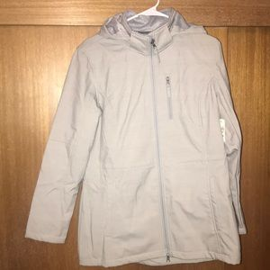 New with tags Free Country grey hooded jacket